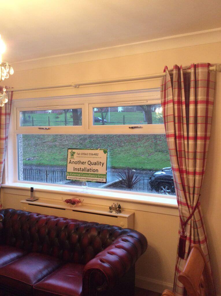 Mr mrs mctavish paisley testimonials ecg home for Living room kilmarnock